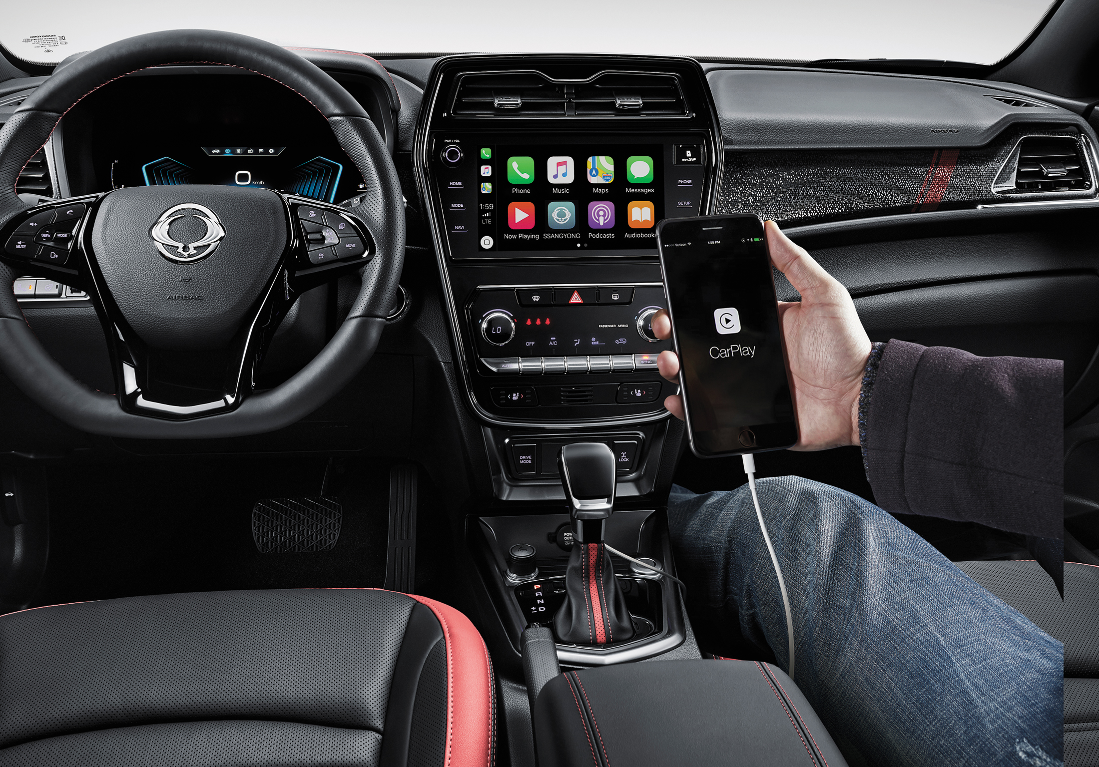 SsangYong New Tivoli - Apple CarPlay