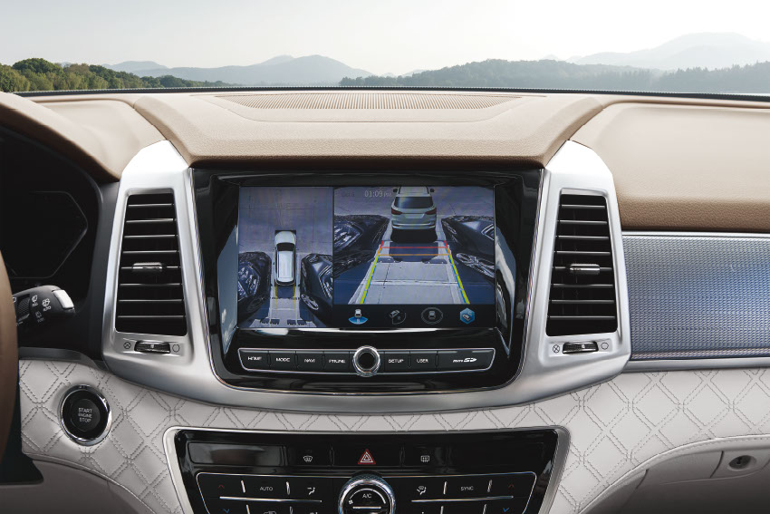 New Rexton Y45 3D AROUND VIEW MONITORING SYSTEM
