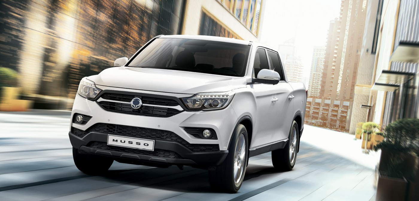 SsangYong Musso - Betrouwbare pick-up